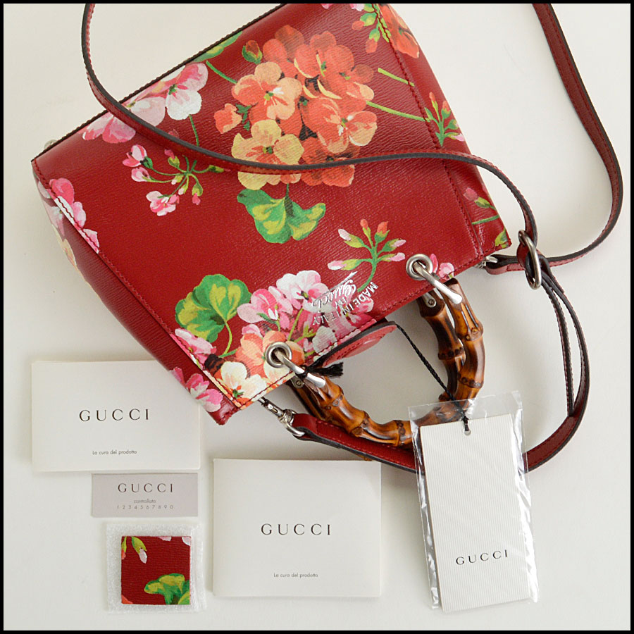 RDC7945 Gucci red mini blooms extras extras