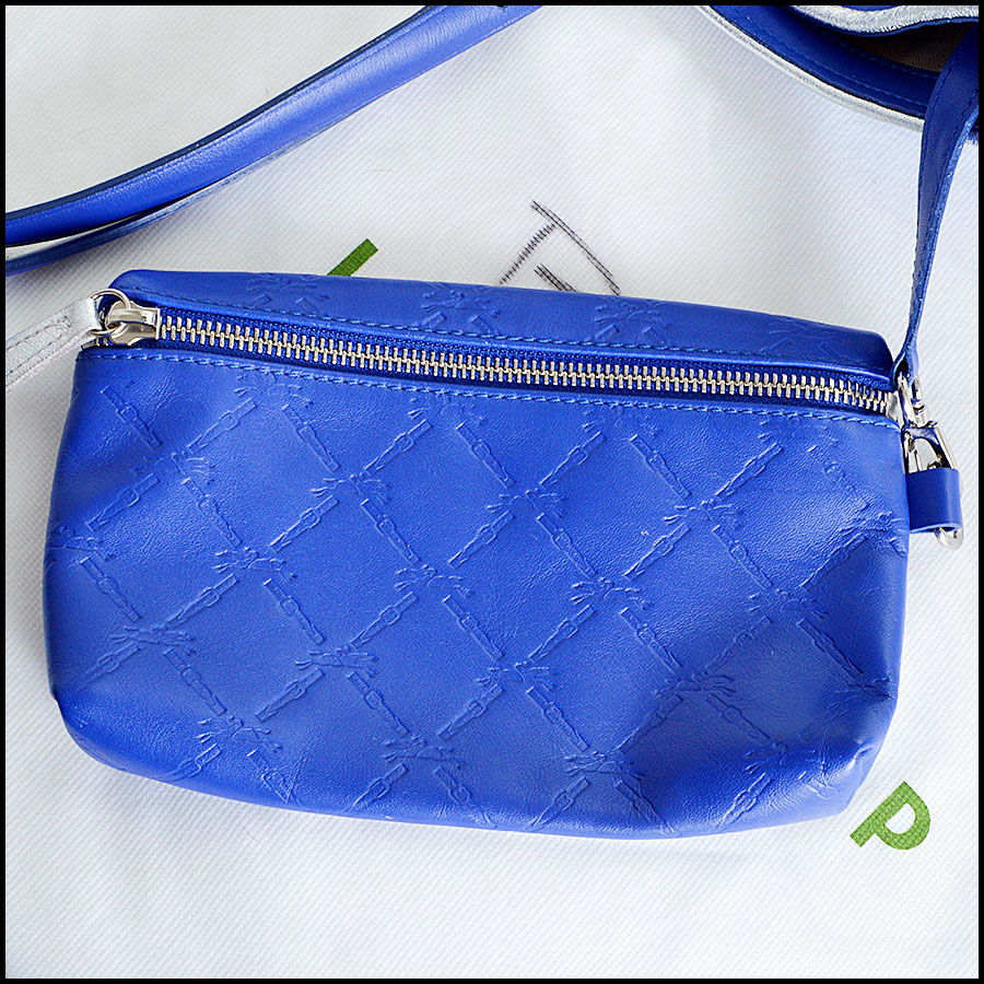 Longchamp Royal Blue LM Cuir Tote Bag comes with2