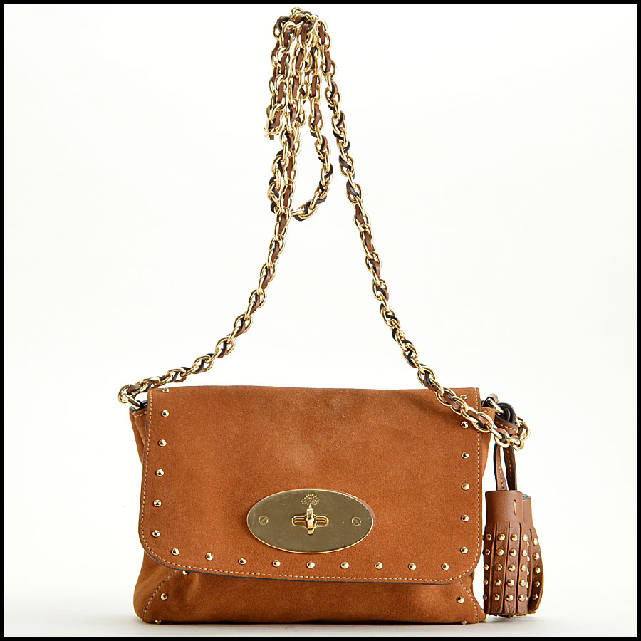 Mulberry Oak Suede Lily