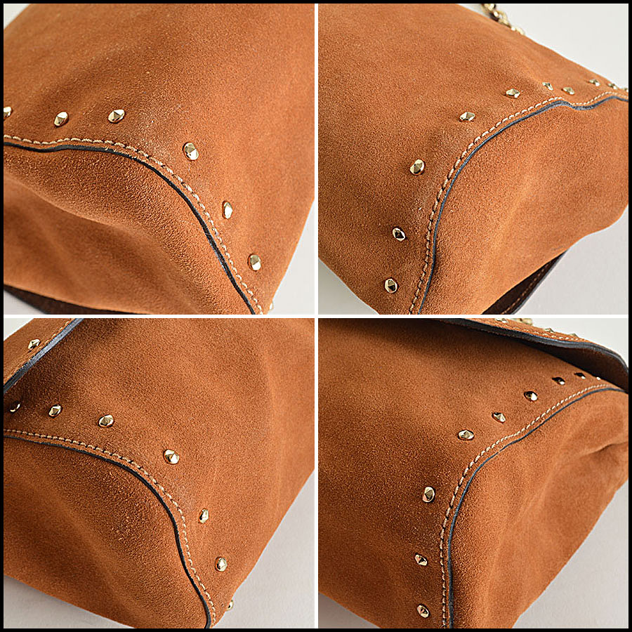 Mulberry Oak Suede Lily corners