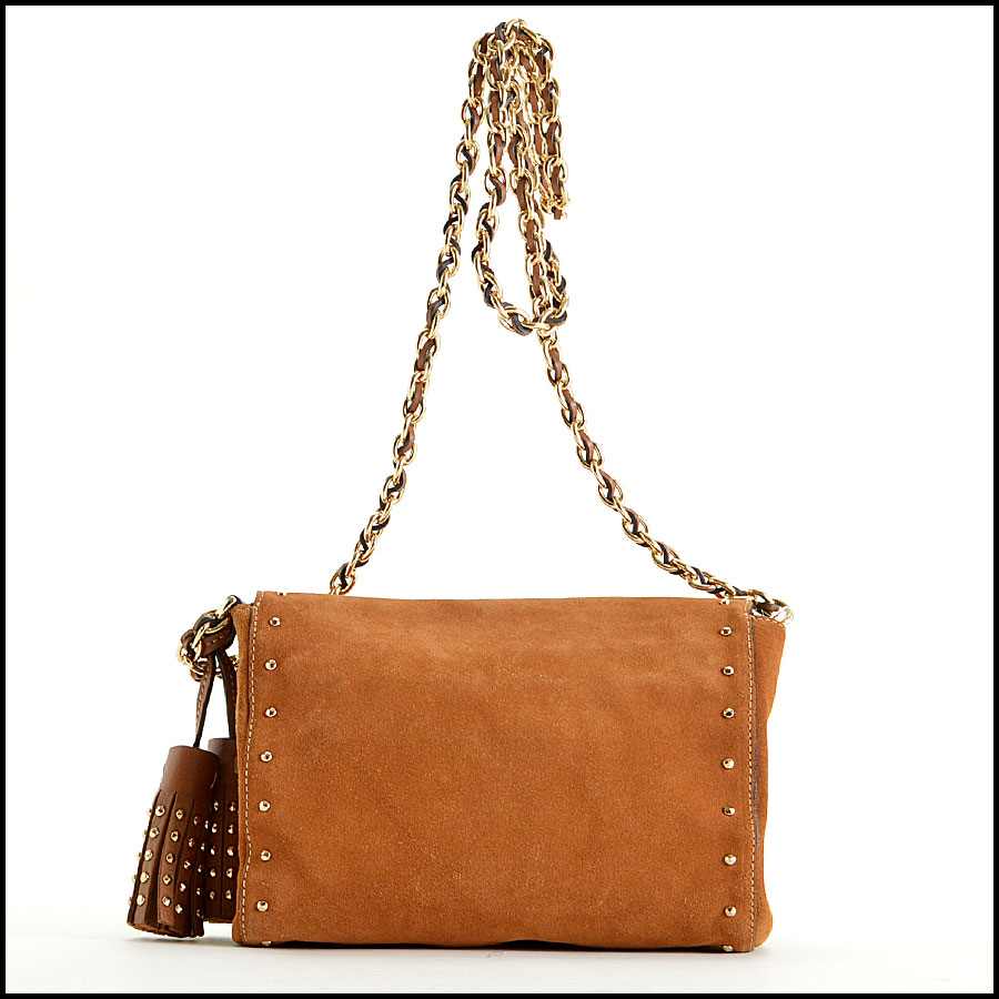 Mulberry Oak Suede Lily back