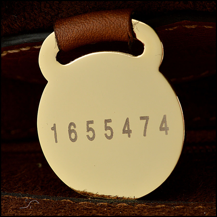 Mulberry Oak Suede Lily tag one