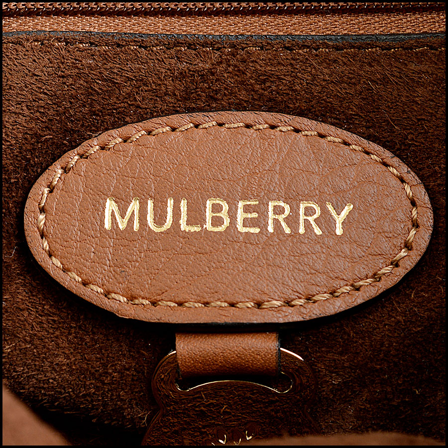 Mulberry Oak Suede Lily tag two