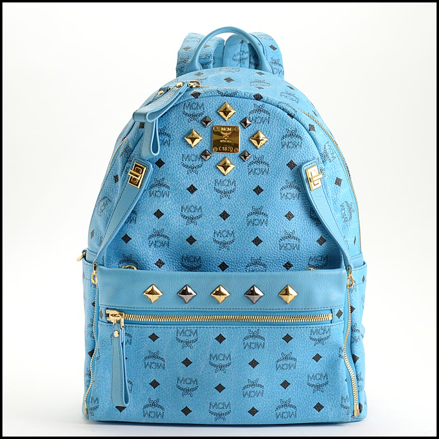 RDC11250 MCM Blue Backpack w/Pouch