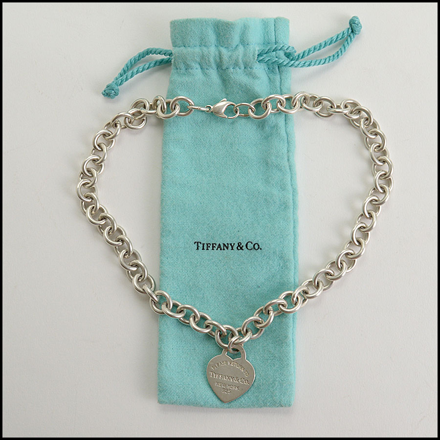 RDC10842 Tiffany & Co. Sterling Return to Tiffany Heart Necklace