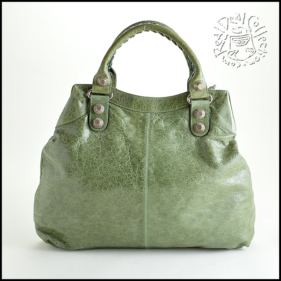 RDC6348 Balenciaga Vert Thyme 21mm SGH Brief Mannequin Back