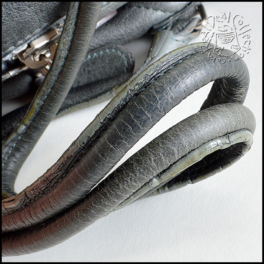 Balenciaga Grey Parachute Tote Handle