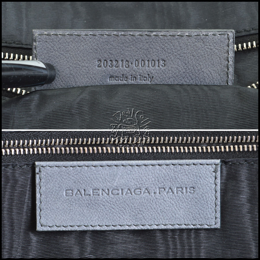 Balenciaga Travel Tote tag