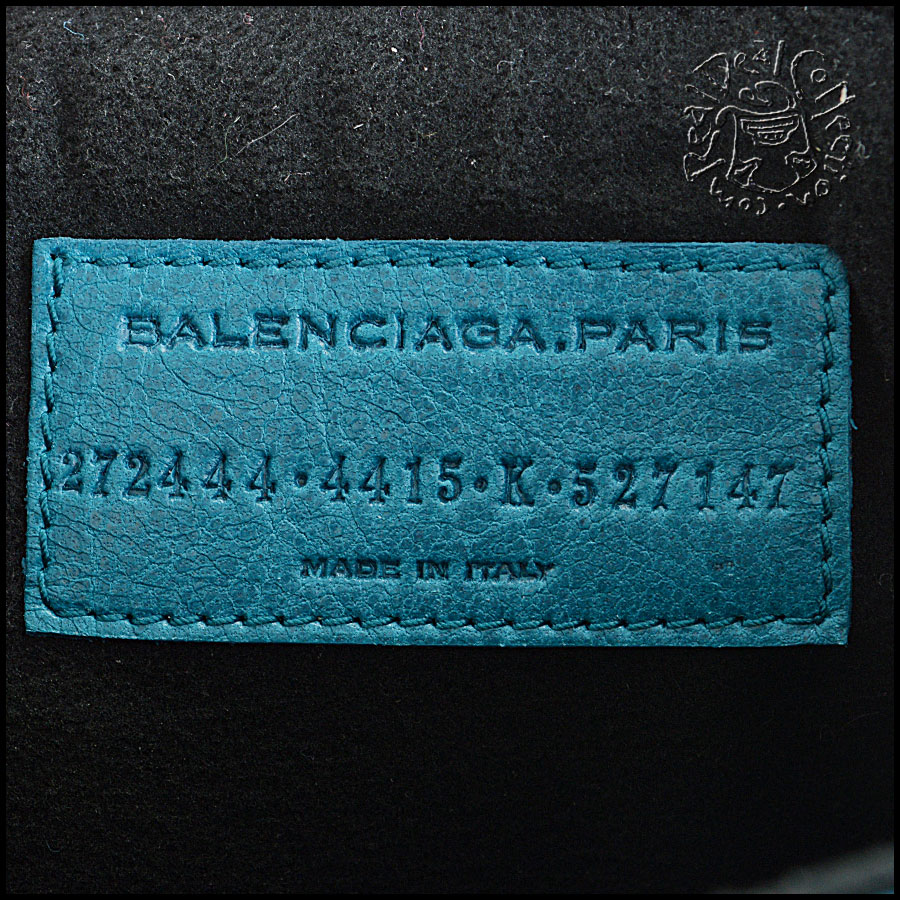 Balenciaga iPad sleeve tag
