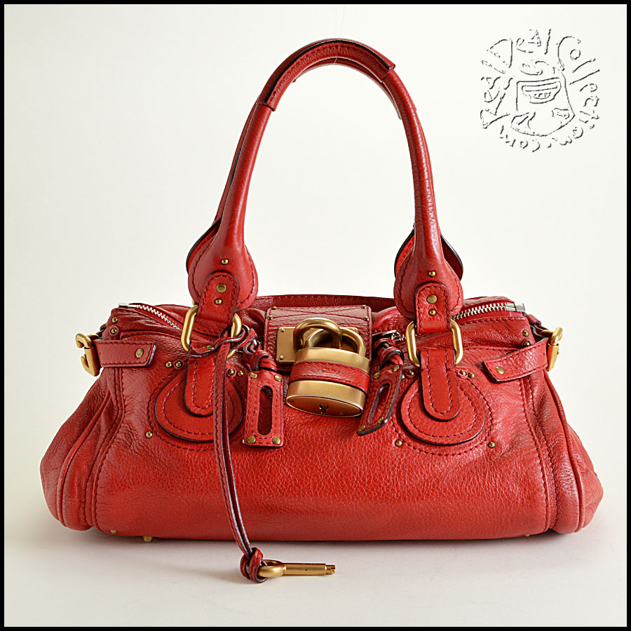 Chloe Red Handbag