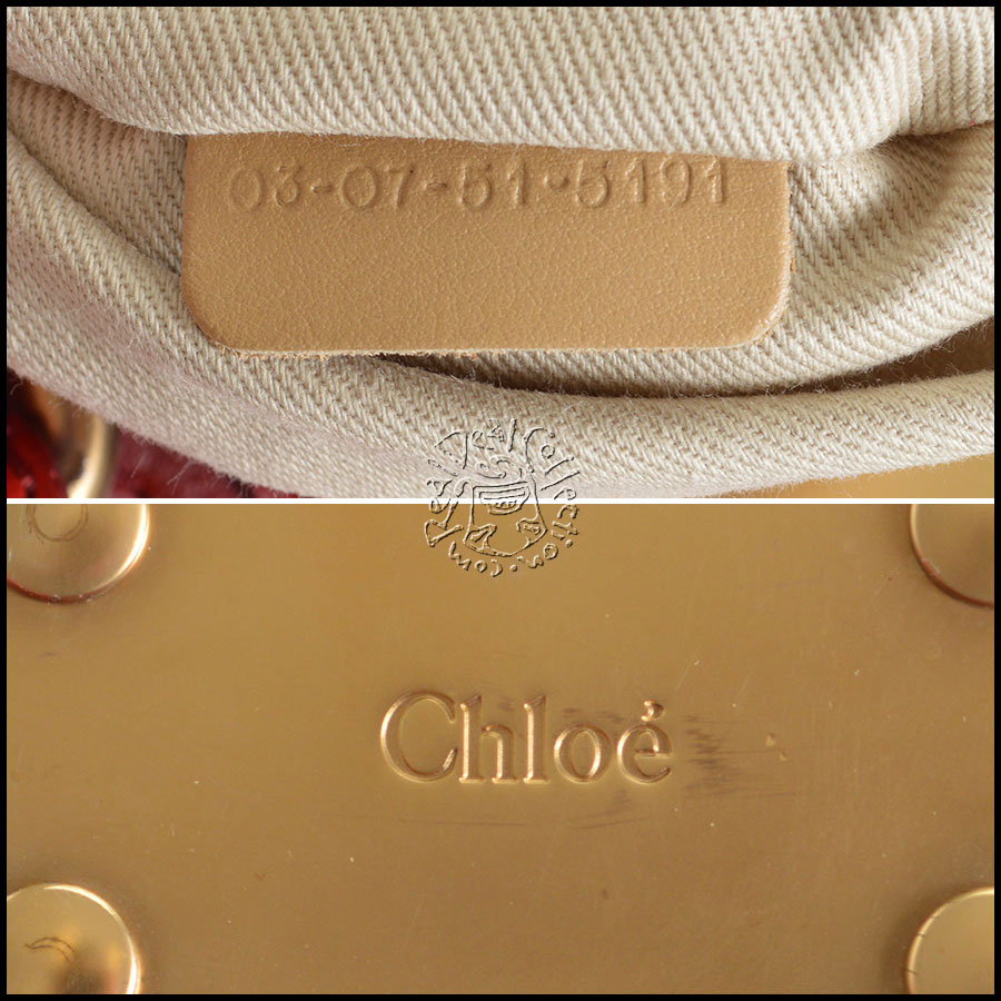 Chloe Paddington Shoulder Handbag side