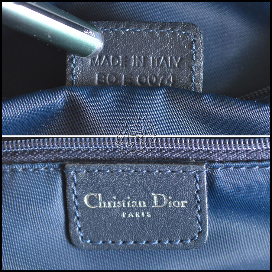 Dior Denim tag