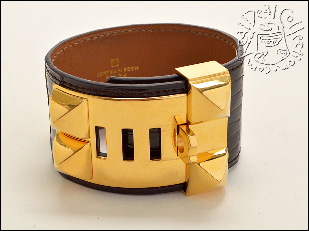 Hermes Alligator Collier CDC