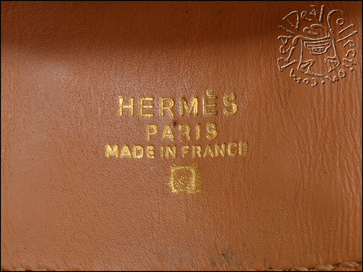 Hermes Alligator Collier CDC Stamp
