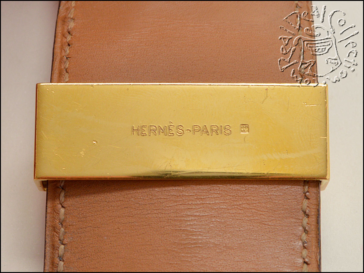 Hermes Alligator Collier CDC Logo