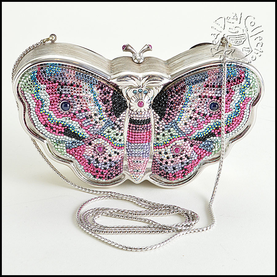 Judith Leiber Crystal Butterfly back