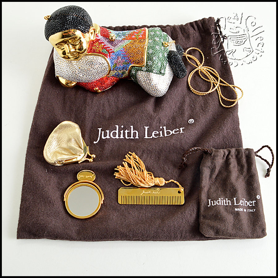 Judith Leiber Crystal Pillowboy extras