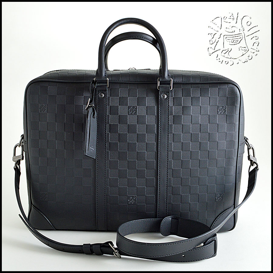 Louis Vuitton Leather Damier Travel Case