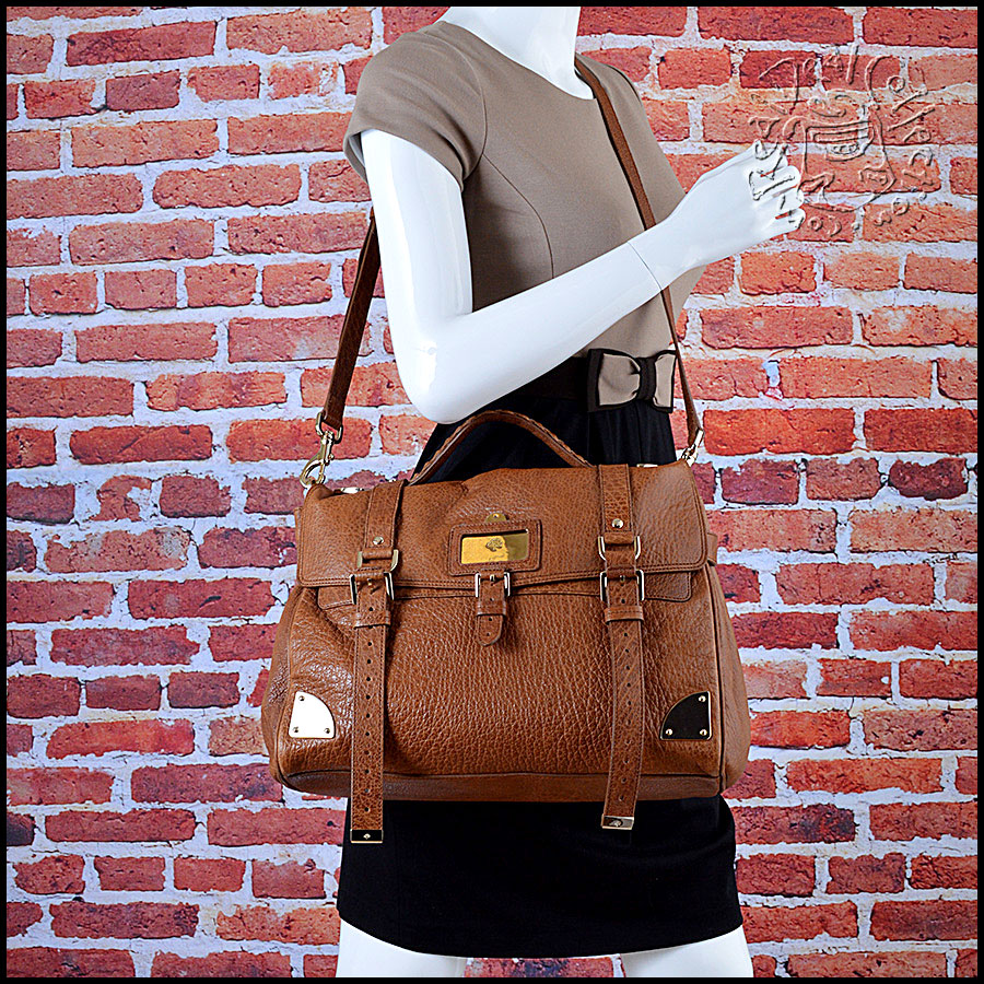 Mulberry Oak Brown Leather OS Travel Alexa