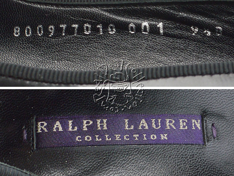 Ralph Lauren Black Platform Pumps Tags