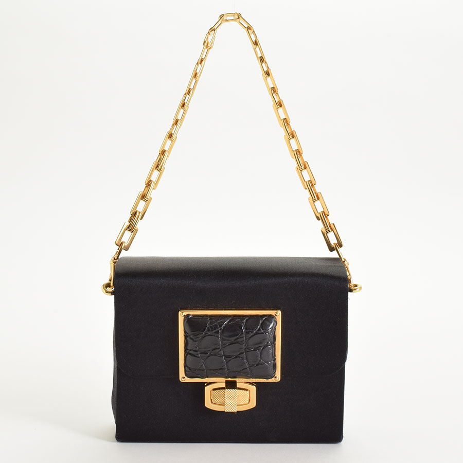 RDC9327 Balenciaga Satin Evening Bag