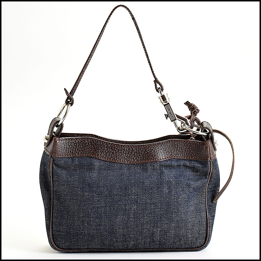 RDC9021 Balenciaga Denim Bag back