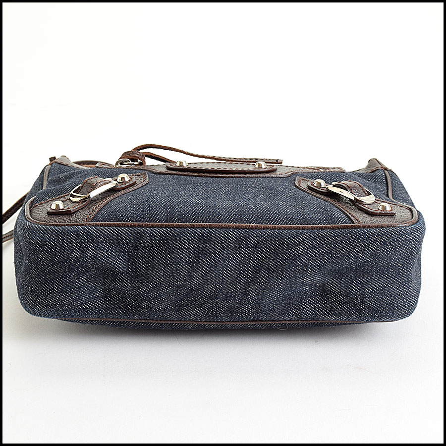 RDC9021 Balenciaga Denim Bag bottom