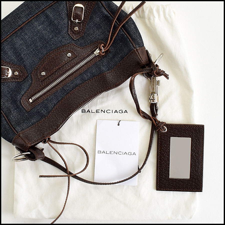 RDC9021 Balenciaga Denim Bag includes