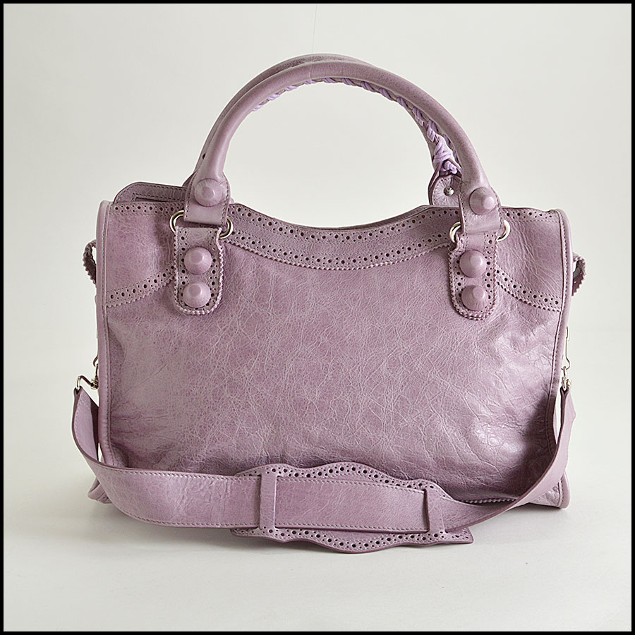 RDC8347 Balenciaga Lilac Brogues Giant City back