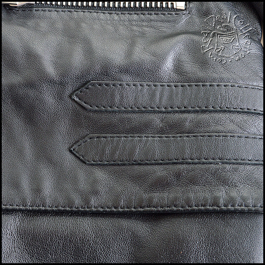 Balenciaga Quilted Leather Jacket Detail