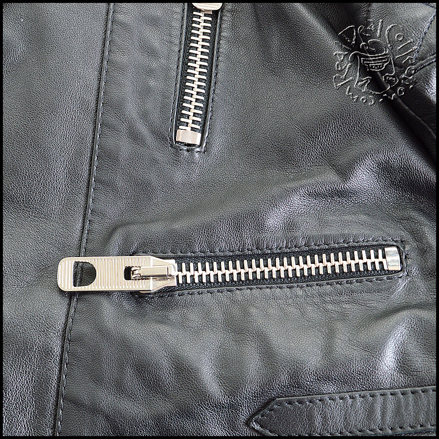 Balenciaga Quilted Leather Jacket Zippers
