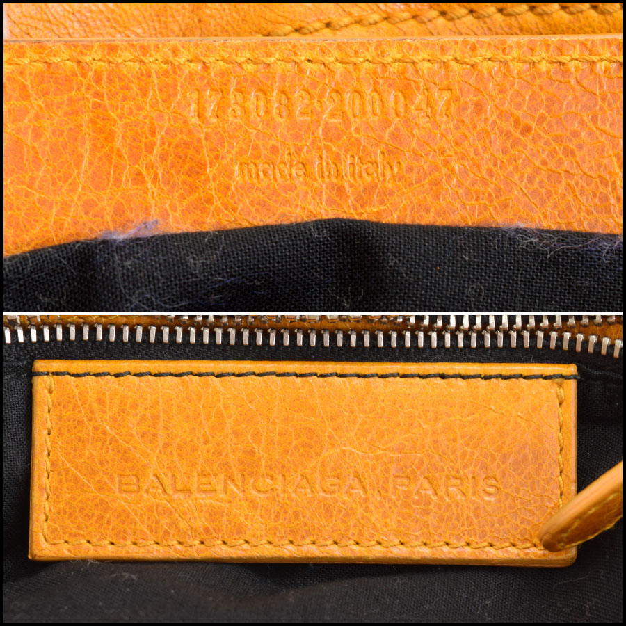 RDC9051 Balenciaga yellow part time tag