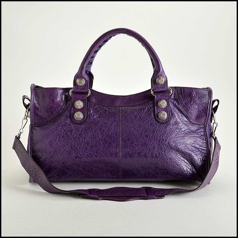 RDC7622 balenciaga violet part time back