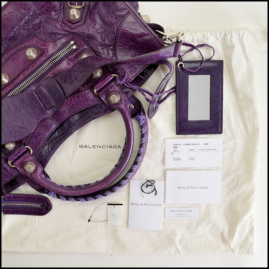 RDC7622 balenciaga violet part time includes