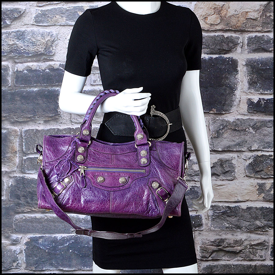 RDC7622 balenciaga violet part time model