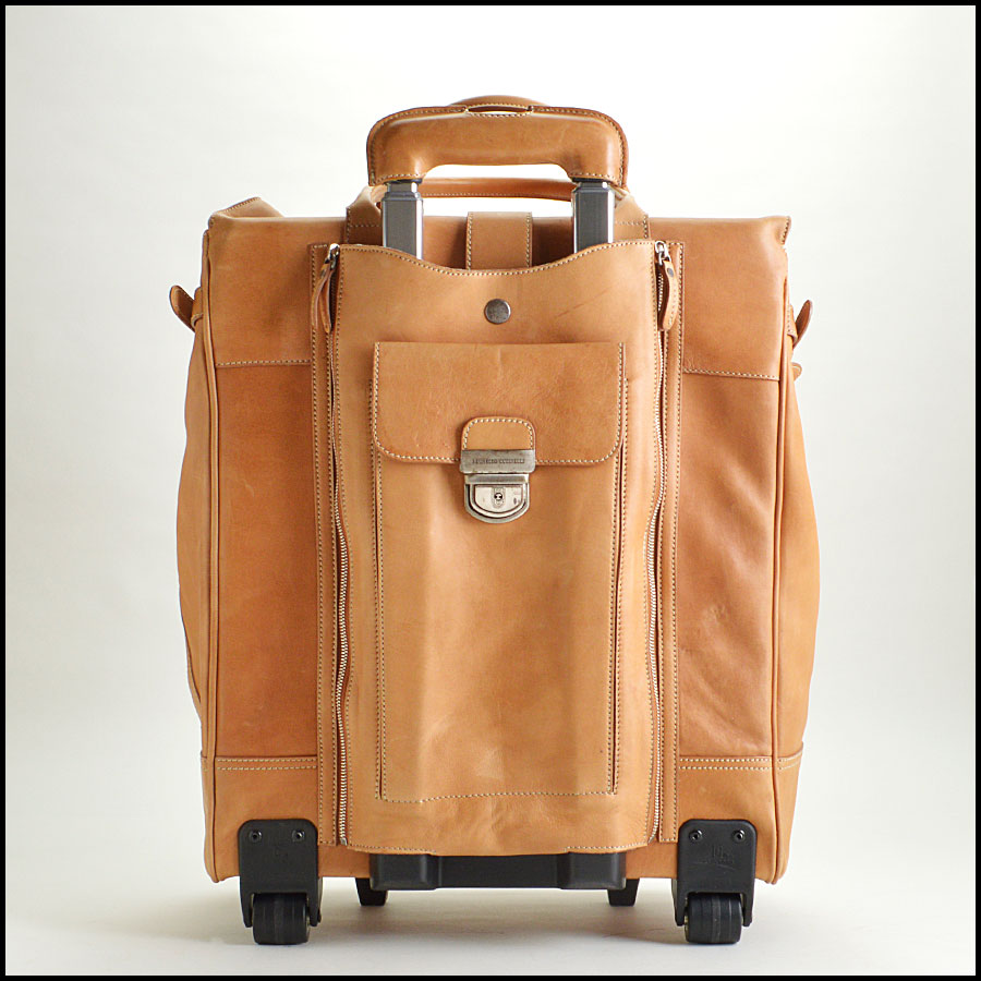 RDC8664 Brunello Cucinelli rolling luggage back