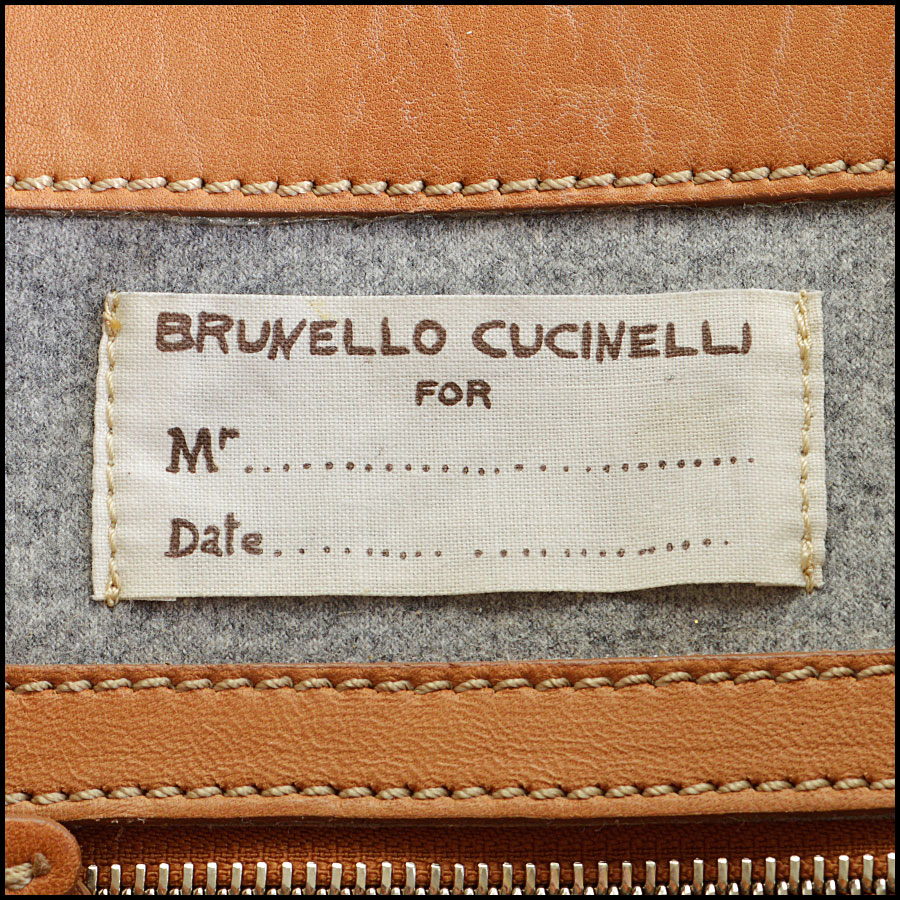 RDC8664 Brunello Cucinelli rolling luggage tag 1