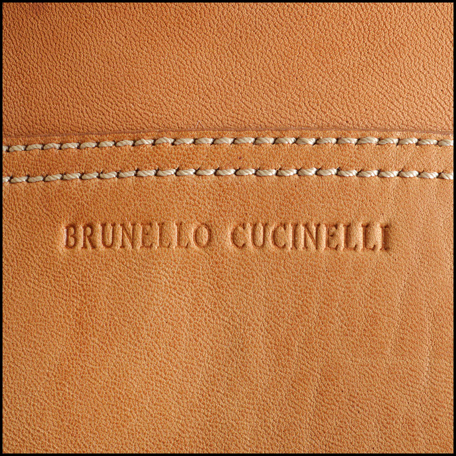 RDC8664 Brunello Cucinelli rolling luggage tag 2