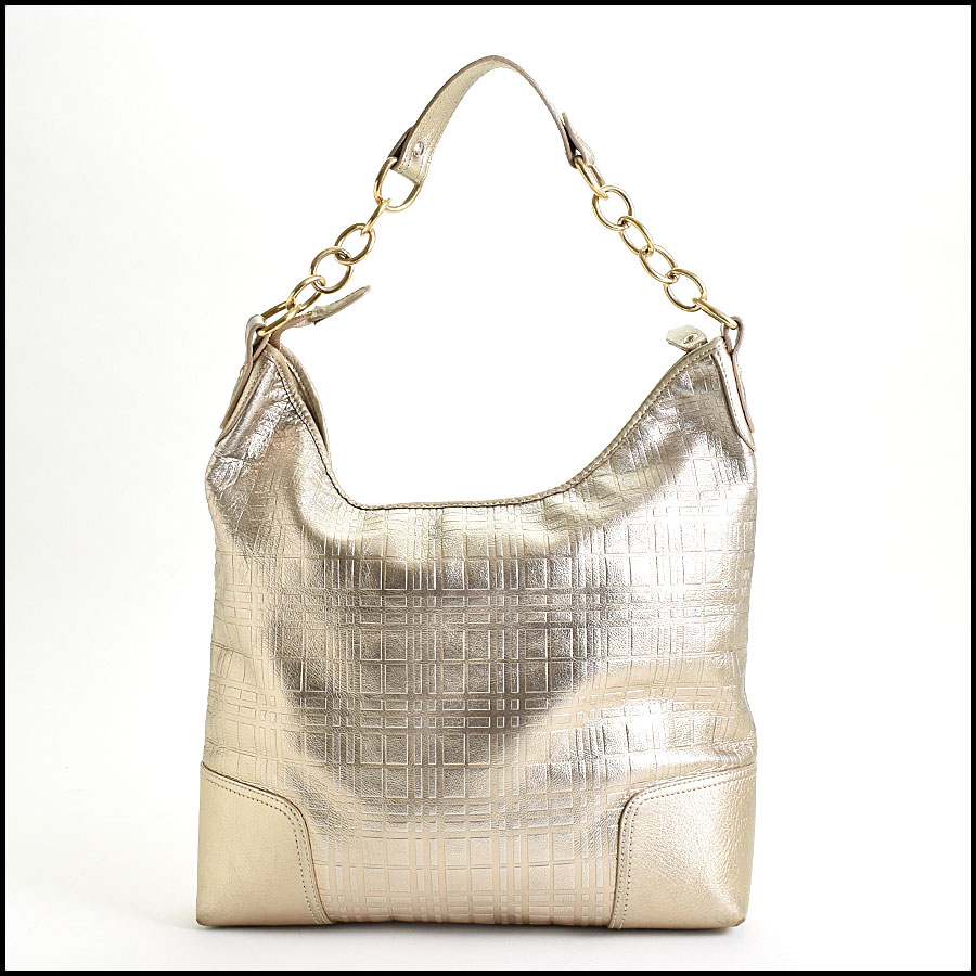 RDC9529 Burberry Silver Tote back