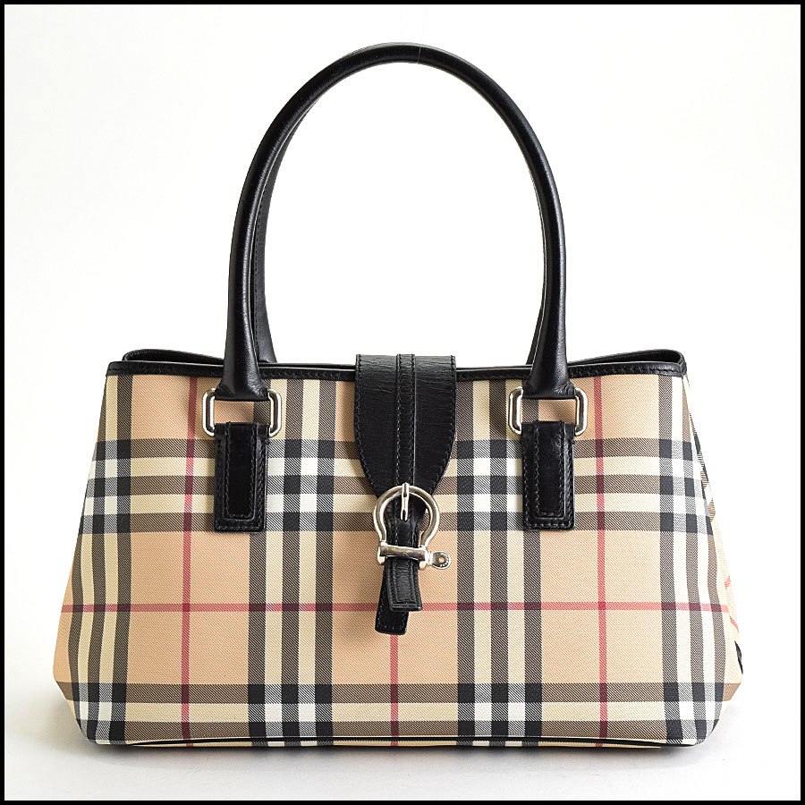 RDC9448 Burberry Nova Check Satchel