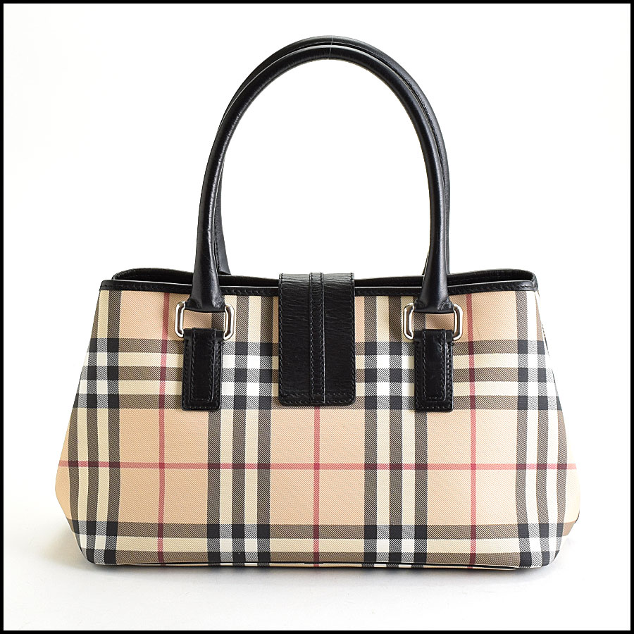 RDC9448 Burberry Nova Check Satchel back