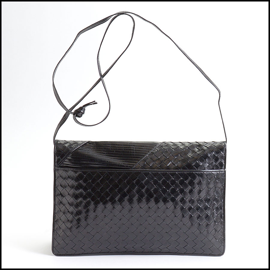 RDC9961 Bottega Veneta Flap Bag back