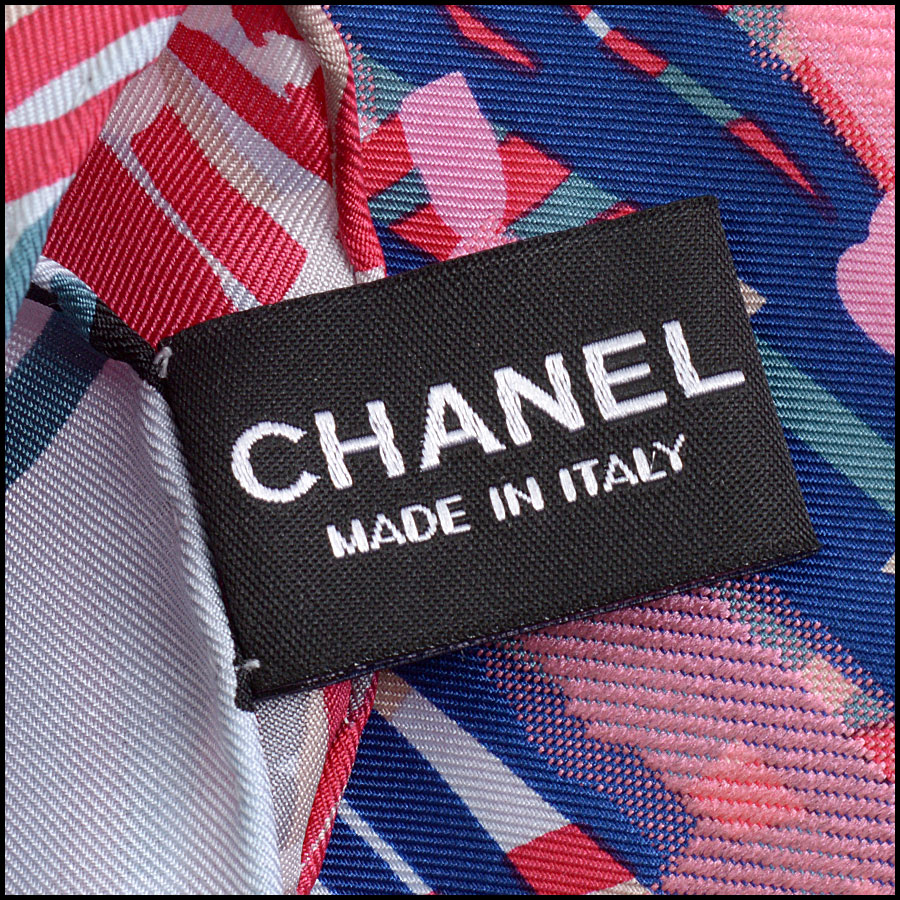 RDC10213 Chanel Multicolor Tweed Abstract tag