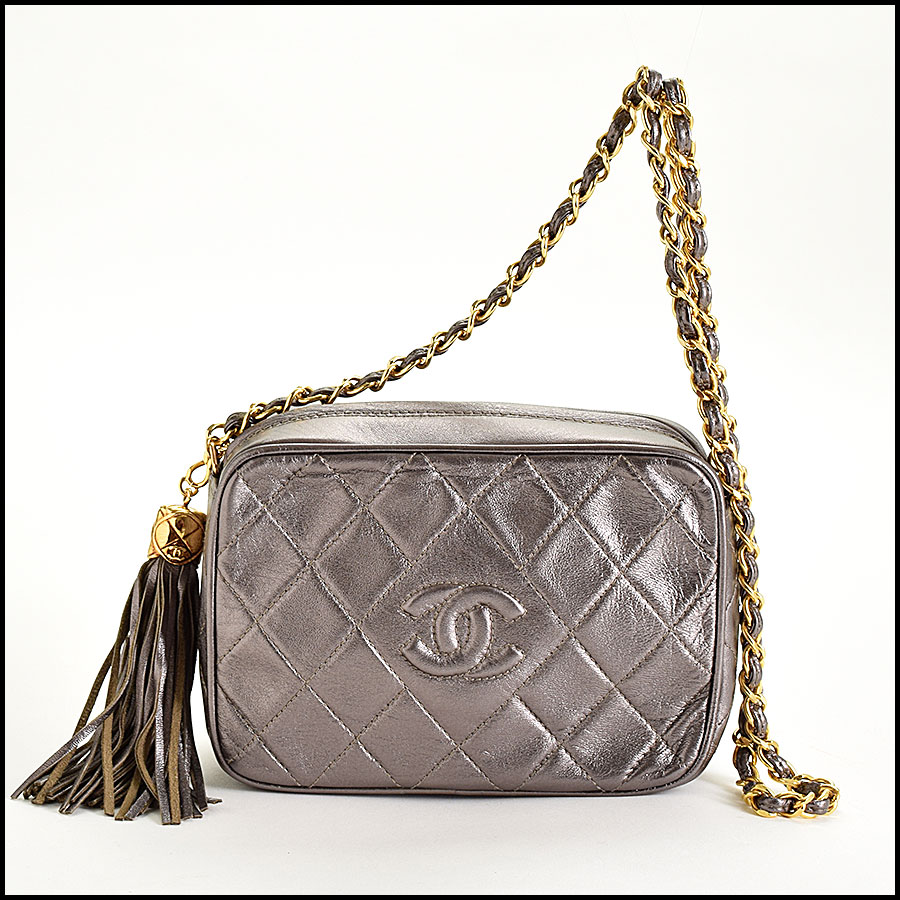 RDC8697 Chanel Metallic Camera Bag