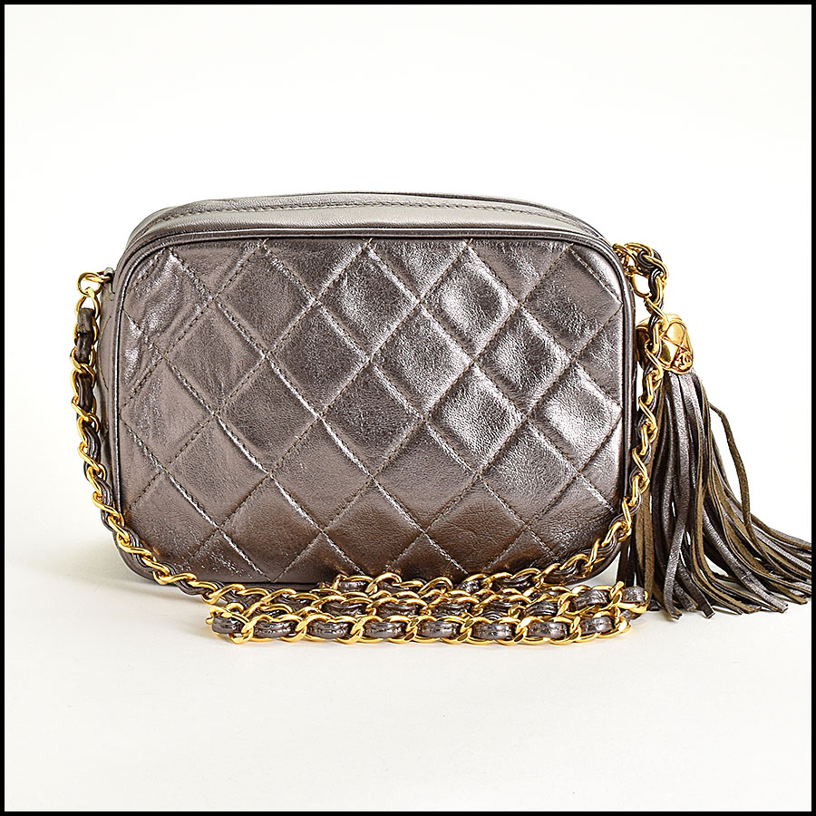 RDC8697 Chanel Metallic Camera Bag back