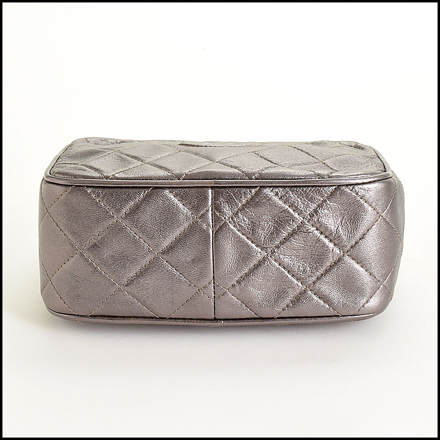 RDC8697 Chanel Metallic Camera Bag bottom