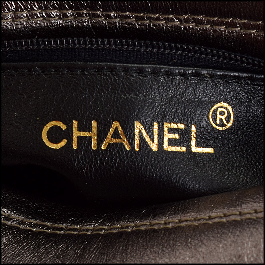 RDC8697 Chanel Metallic Camera Bag tag 2