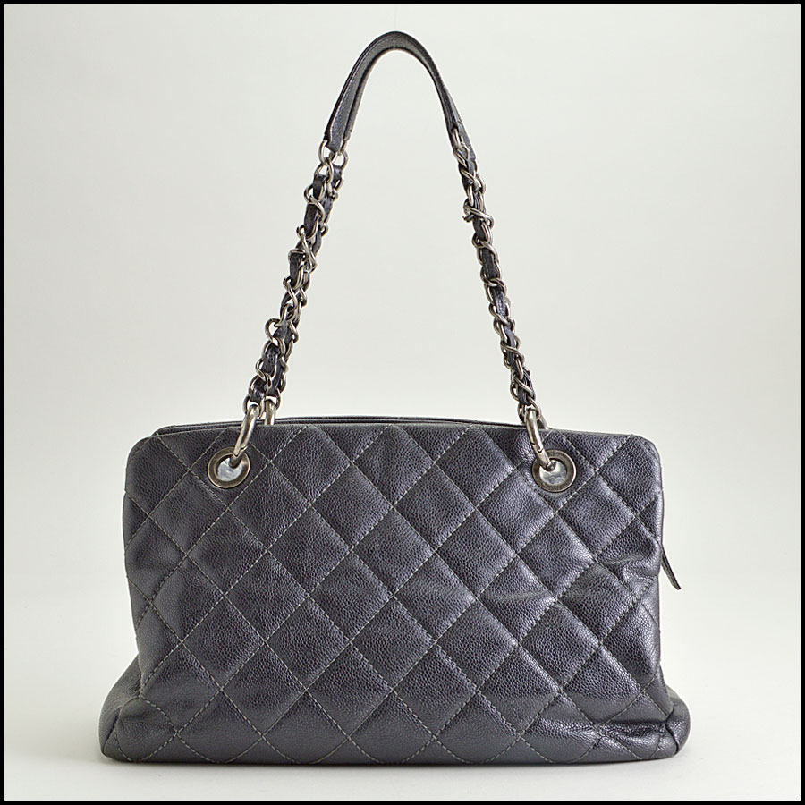 RDC8491 Chanel Caviar Quilted Tote back