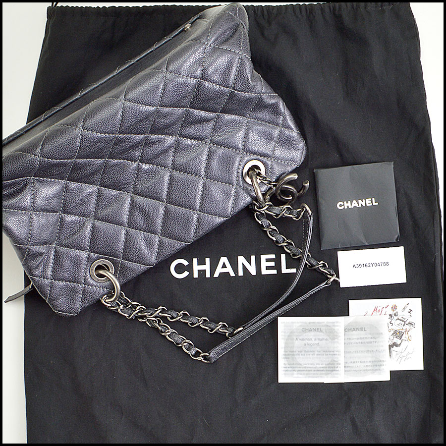 RDC8491 Chanel Caviar Quilted Tote extras