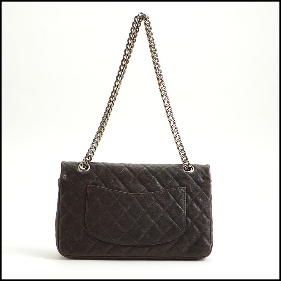 RDC8787 Chanel Chocolate brown reissue back